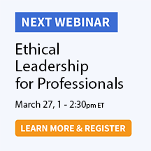 Ethical Leadership for Professionals