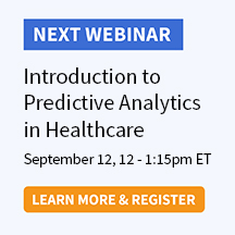 Introduction to Predictive Analytics in Healthcare