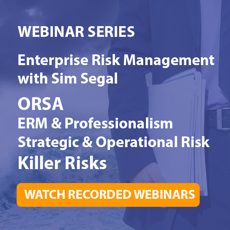 Enterprise Risk Management Webinar Series
