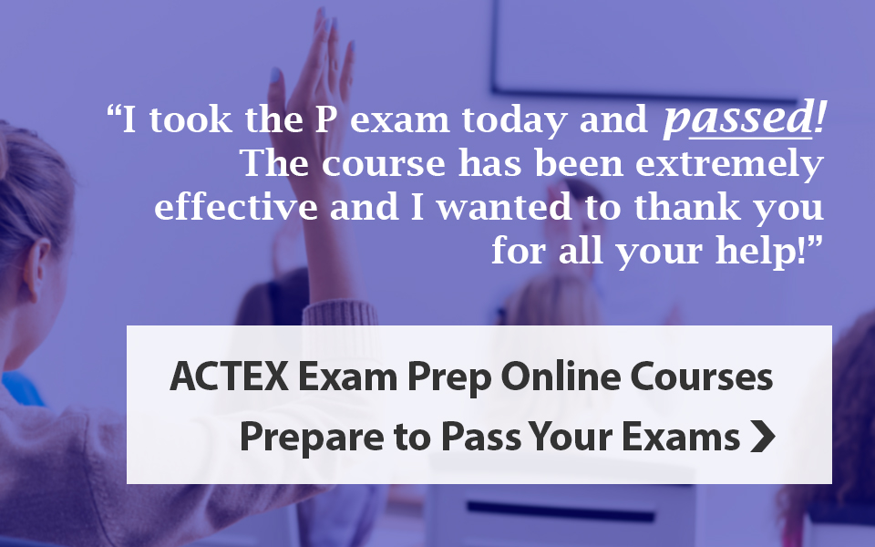 Online Courses for Actuarial Exam Prep
