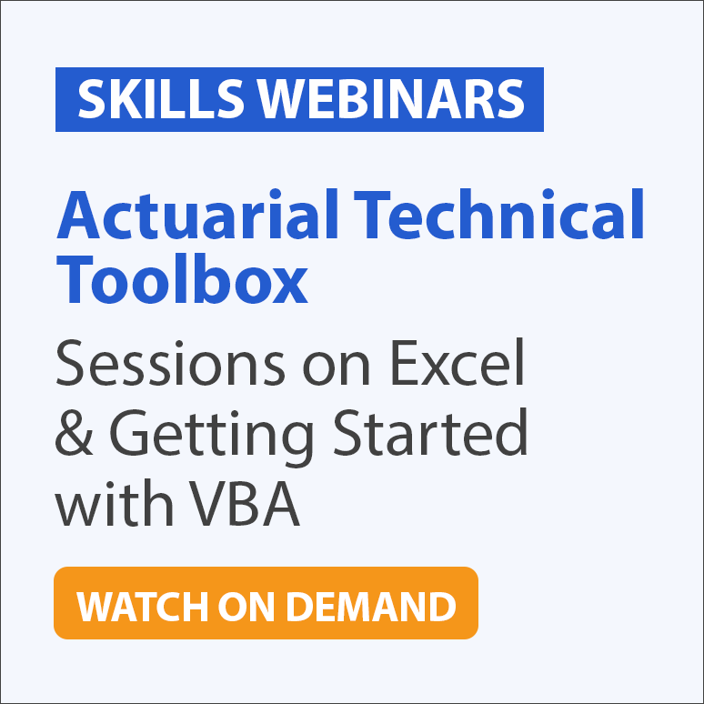 Learn VBA and Excel for Actuaries