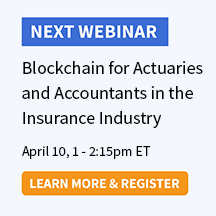Blockchain for Actuaries and Accountants in the Insurance Industry