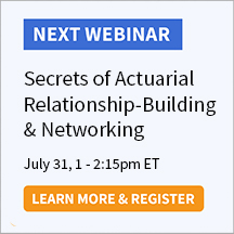 Secrets of Actuarial Relationship-Building & Networking