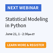 Statistical Modeling in Python
