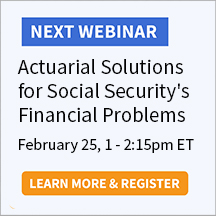 Actuarial Solutions for Social Security's Financial Problems