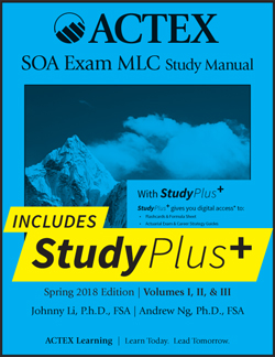 free trial new actex study manual for exam mlc spring 2018 rh actuarialoutpost com actuarial exam mlc study manual asm exam c study manual pdf